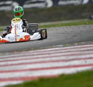 Matheus Ferreira tem ótima performance no Europeu de Kart na Bélgica com quatro top-5