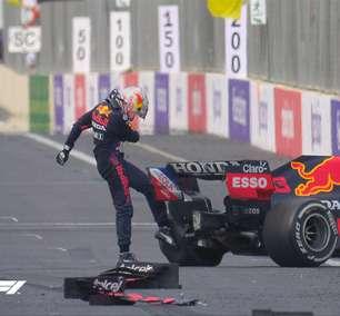 Análise do GP: pneus traíram Verstappen em Baku