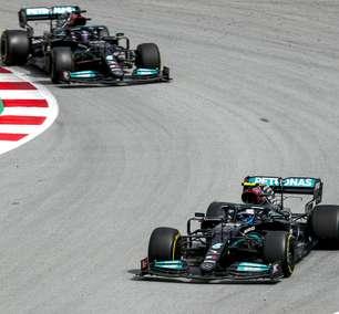 Mercedes em estado de alerta, mas sem pânico (por enquanto)