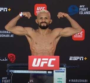 Técnico de Moreno faz posts racistas contra Deiveson no UFC