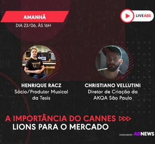 A importância do Cannes Lions para o mercado | LIVEADS