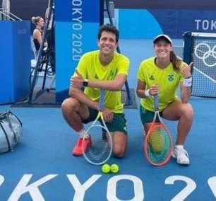 Luisa Stefani e Melo vão pegar Djokovic nas mistas em Tóquio