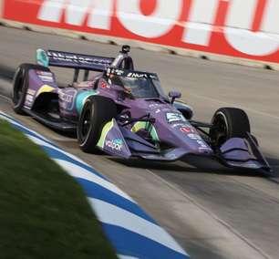 Romain Grosjean faz seu primeiro teste em pista oval na Indy