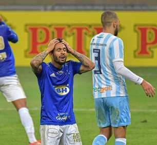 Cruzeiro empata com o Londrina e chega a 9 jogos sem vencer