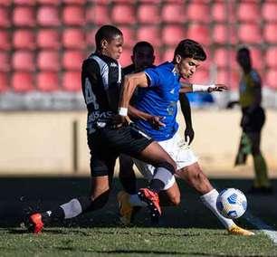 Após sofrer dois gols no início, Botafogo empata com Cruzeiro em Minas Gerais pelo Brasileirão sub-20