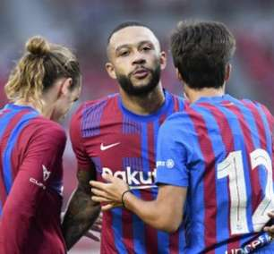 Com golaço de Depay, Barcelona derrota o Stuttgart em amistoso; veja o vídeo