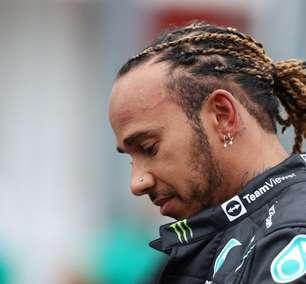"""Hamilton parabeniza Ocon e vê confronto """"bem no limite"""" com Alonso na Hungria"""