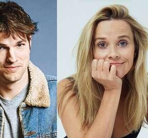 Ashton Kutcher e Reese Witherspoon vão estrelar comédia na Netflix