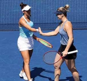 Luisa Stefani vai à semifinal do US Open e faz história