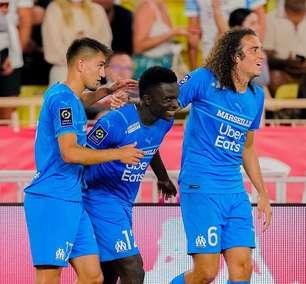 Olympique de Marselha bate Monaco fora de casa por 2 a 0