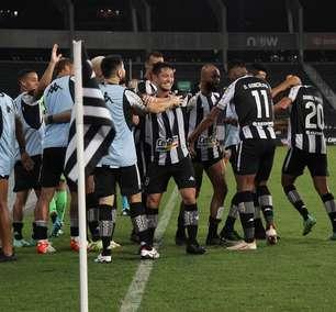 Botafogo vira sobre o Náutico e assume o 2º lugar da Série B
