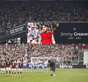 Maior goleador do futebol inglês, Greaves morre aos 81 anos
