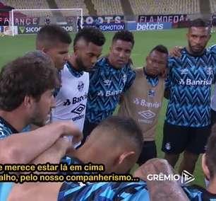 GRÊMIO: União do grupo, discurso vibrante de Rafinha, festa no vestiário e comemoração de Borja - Confira os bastidores da vitória sobre o Flamengo