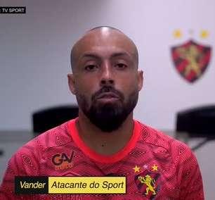 SPORT: Acompanhe o primeiro dia de Vander, nova contratação do clube já participou de atividades no CT