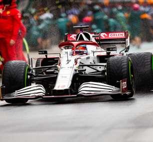 Recuperado da covid, Kimi faz sua melhor corrida na F1 2021