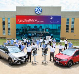 VW chega a 12,5 milhões de motores produzidos em São Carlos
