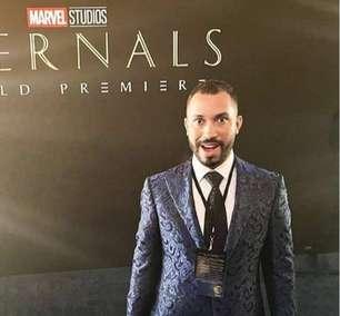 Gil do Vigor aparece em vídeo com presidente da Marvel e viraliza; confira