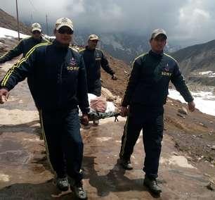 Mortos pelas chuvas na Índia e no Nepal sobem para quase 200
