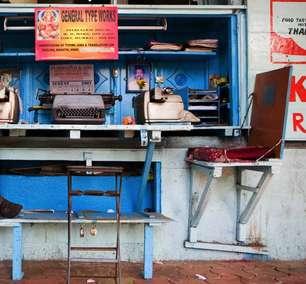 O país onde máquinas de escrever ainda fazem sucesso