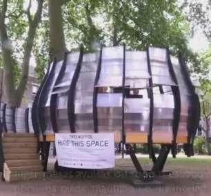 Bairro hipster de Londres ganha escritório coletivo em árvore