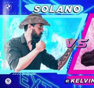 Affonso Solano e KelvinOuteiro jogam Castlevania