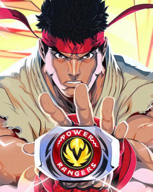 Power Rangers Battle for the Grid recebe DLC de Street Fighter