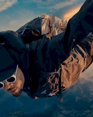 """Chris Brown salta de paraquedas no vídeo de """"Go Crazy (Remix)"""""""