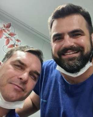 Farei exames para saber grau da lesão, diz Flávio Bolsonaro