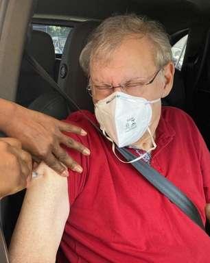 Milton Neves deixa de receber 2° dose da vacina e desabafa