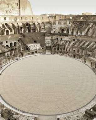 Itália apresenta projeto para reconstruir arena do Coliseu