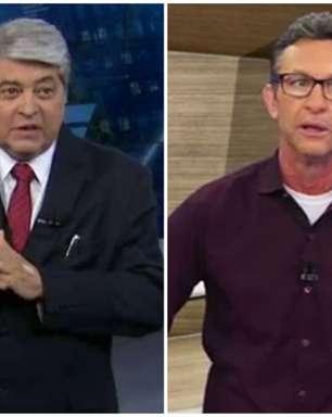 """Neto e Datena """"brigam"""" ao vivo em transmissão do Italiano e comparam Cristiano Ronaldo e Dybala; entenda"""