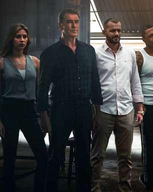 """Trailer traz Pierce Brosnan em clima de """"Velozes & Furiosos"""""""