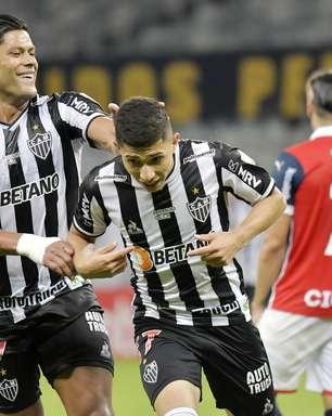 Hulk marca 2 vezes e Atlético-MG goleia o Cerro Porteño