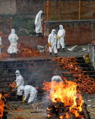"""Disseminação da Covid-19 da Índia ao Nepal é """"catástrofe humana"""", diz agência"""