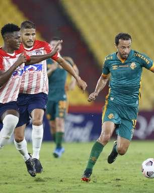 Com polêmica, Flu fica no empate com o Junior Barranquilla