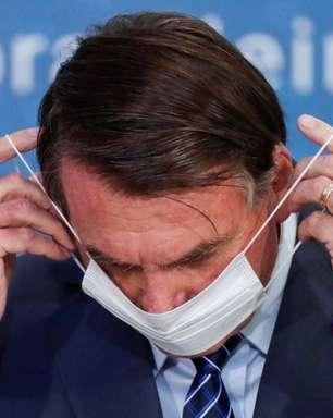 Bolsonaro quer parecer desobrigando máscaras a imunizados