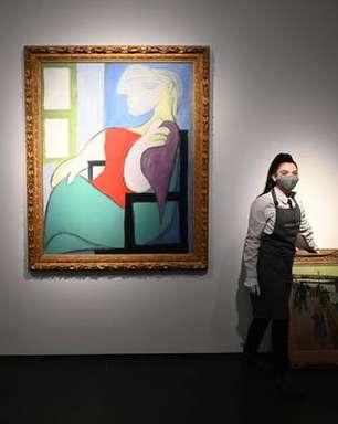Obra de Picasso é vendida em leilão por mais de US$ 103 milhões