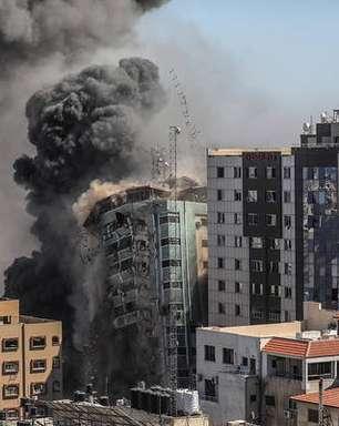 Mísseis atingem prédio que abriga AP e Al Jazeera em Gaza