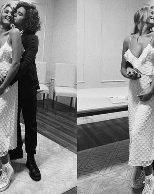 Sasha Meneghel se casa com vestido de 8 mil reais e All Star!