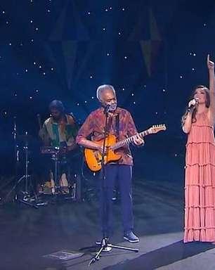 Gilberto Gil e Juliette pedem cautela e vacina em live