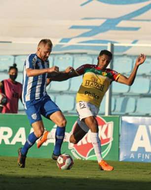 Avaí chega para confronto com o Vasco em meio a incômodo jejum