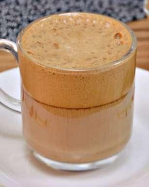 Cappuccino cremoso fácil de fazer