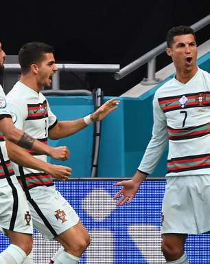 Em dia de recorde de CR7, Portugal vence Hungria por 3 a 0