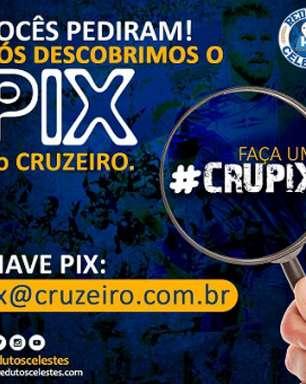 Cruzeiro pede doação via 'CruPix' aos torcedores após vitória na Série B e 'comove' o 'pior time do mundo'