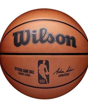 Conheça a bola da Wilson, a nova fornecedora da NBA