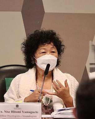 Nise Yamaguchi entra com ação contra senadores da CPI