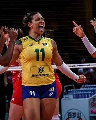 Seleção feminina de vôlei bate Turquia e encara Japão na semi da Liga das Nações