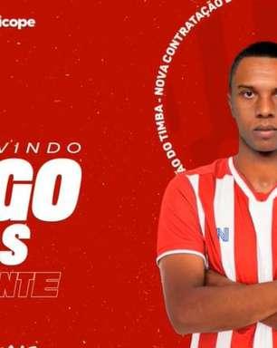 Náutico oficializa a chegada do atacante Iago Dias