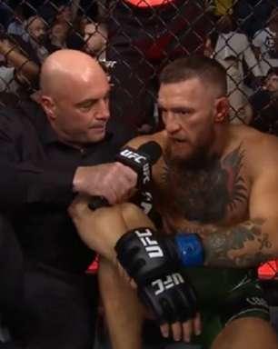 Após grave fratura sofrida por McGregor, Dana revela que irlandês possui lesão crônica nos tornozelos