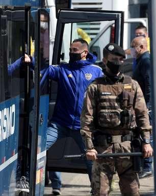 Após 12h, Boca Juniors é liberado da DP e volta à Argentina
